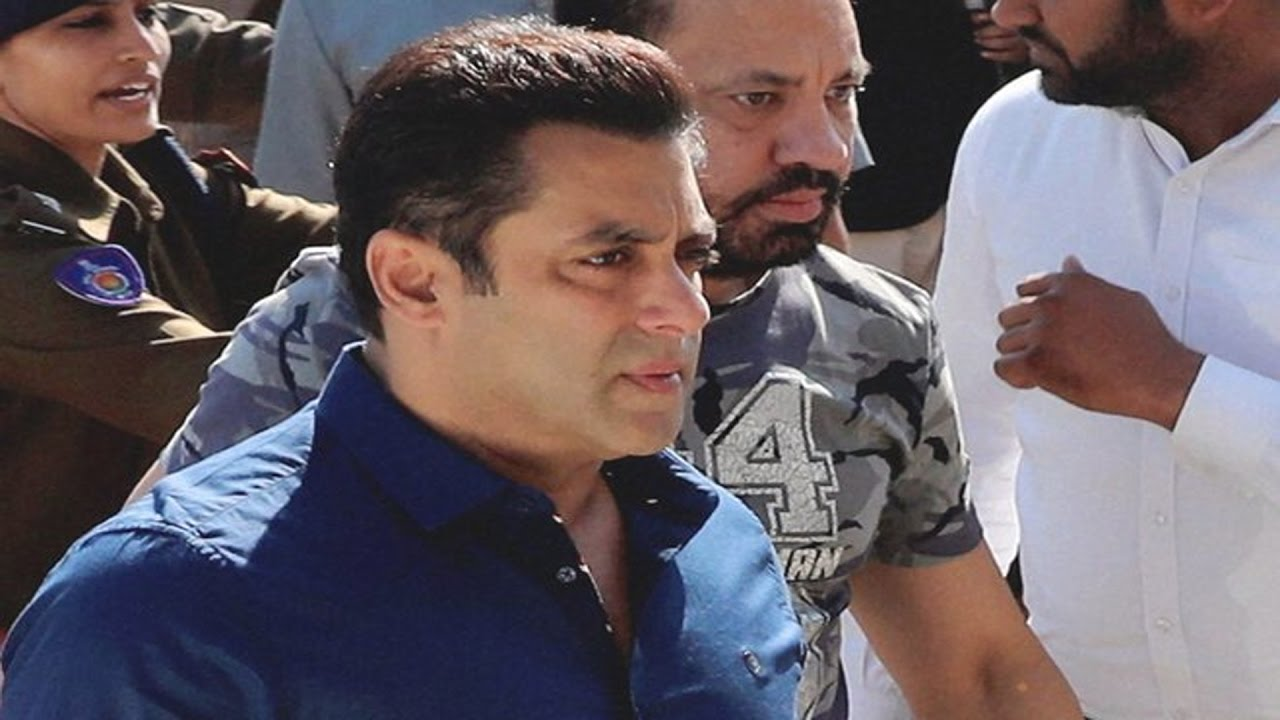 Black buck poaching case : Salman Khan appears in court during final arguments