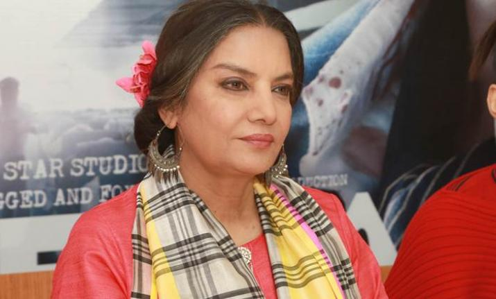 Film industry should boycott IFFI over Padmavati row, says Shabana Azmi