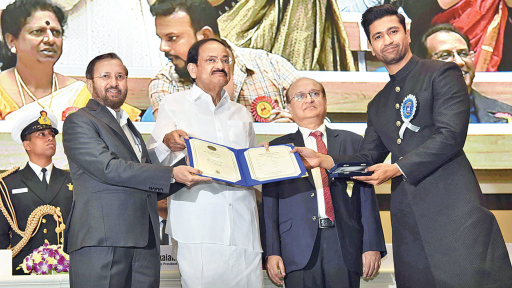 Venkaiah Naidu honours winners at 66th National Film Awards