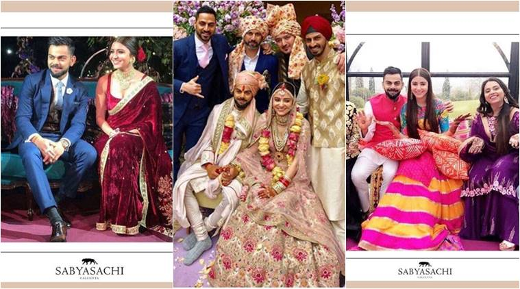 Anushka -Virat  designer wedding : Sabyasachi reveals how he weaved magic