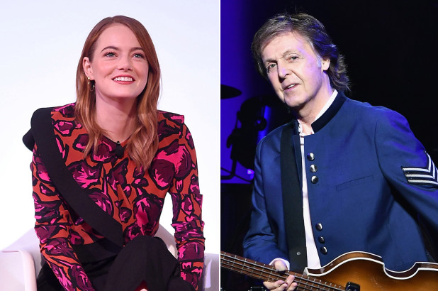 Emma Stone to appear in Paul Cartney