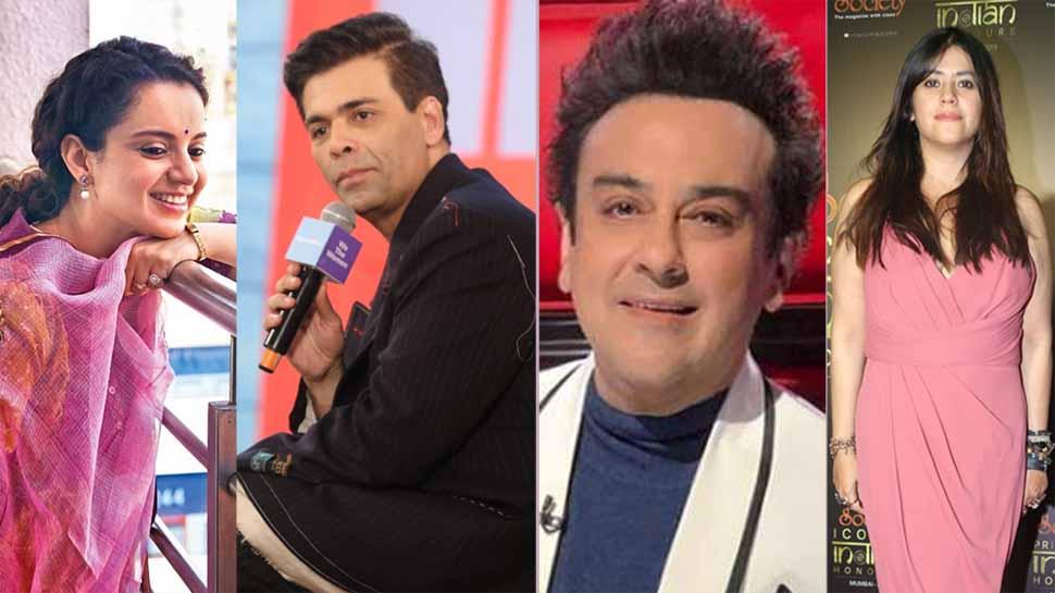 Padma Shri for Ekta Kapoor, Karan Johar, Kangana Ranaut and Adnan Sami
