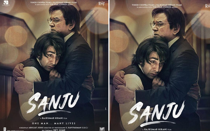 Sanju Poster: Ranbir Kapoor As Sanjay Dutt, Paresh Rawal As Sunil Dutt Recreate Father-Son Bond