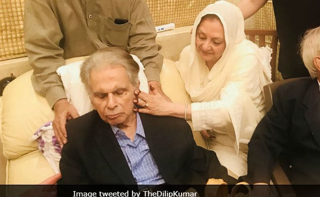 Dilip Kumar to celebrate 96th birthday with family: Saira Banu