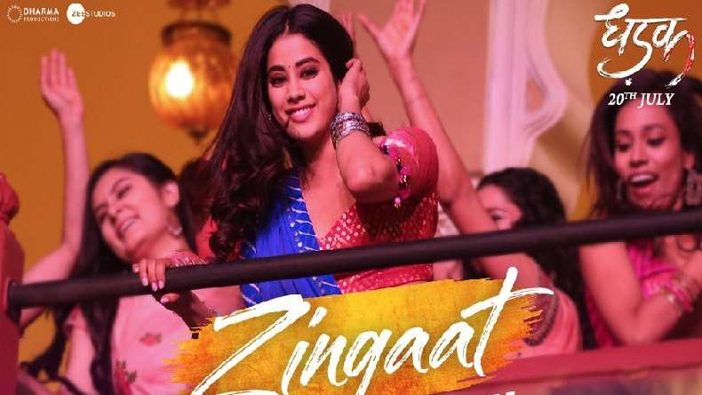 Dhadak song Zingaat released