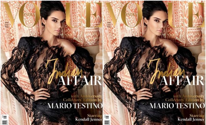Vogue India faces backlash over Kendall Jenner cover