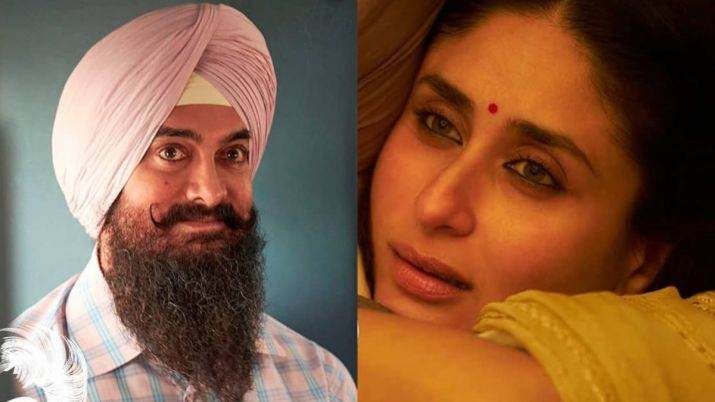 Aamir Khan reveals the first poster of Kareena Kapoor Khan from