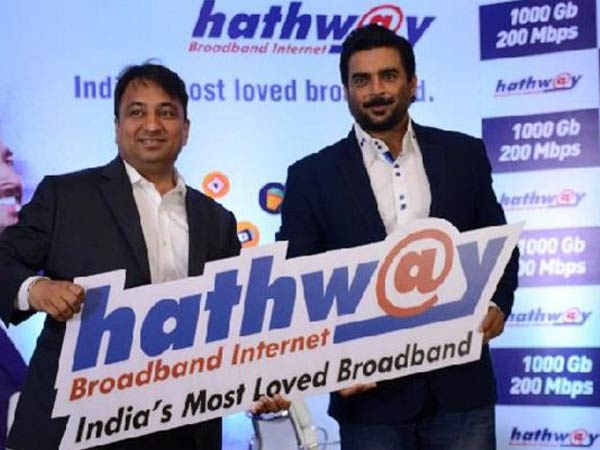 Hathway ropes in actor R Madhavan as new Brand Ambassador