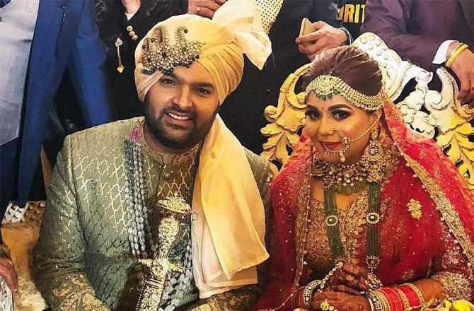 Kapil Sharma marries to Ginni Chatrath in Jalandhar
