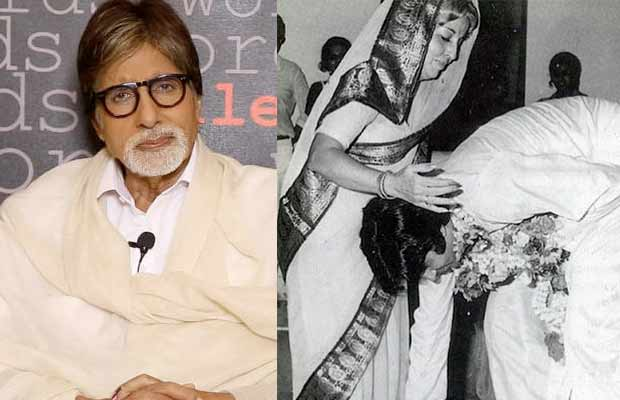 Amitabh Bachchan remembers his mother on her death anniversary