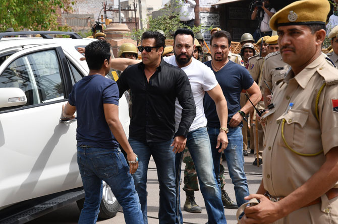 5-year prison term in the 1998 blackbuck killing case along with penalty of Rs 10,000 for Salman Khan