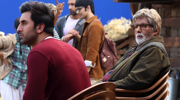 Amitabh Bachchan praises Ranbir Kapoor for Enormous Talent from the sets of