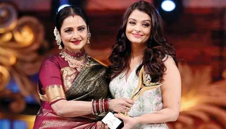 Aishwarya Rai completes 20 years of Hindi cinema, Rekha congratulates her in a unique way