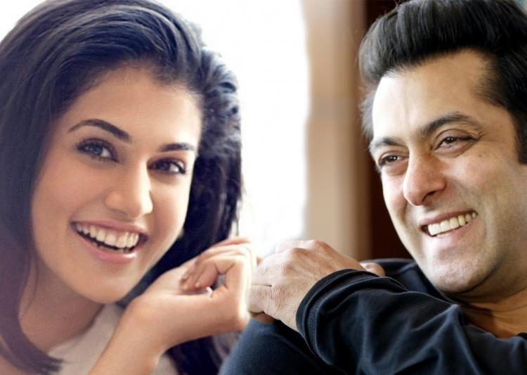 Taapsee excited to work with Salman in
