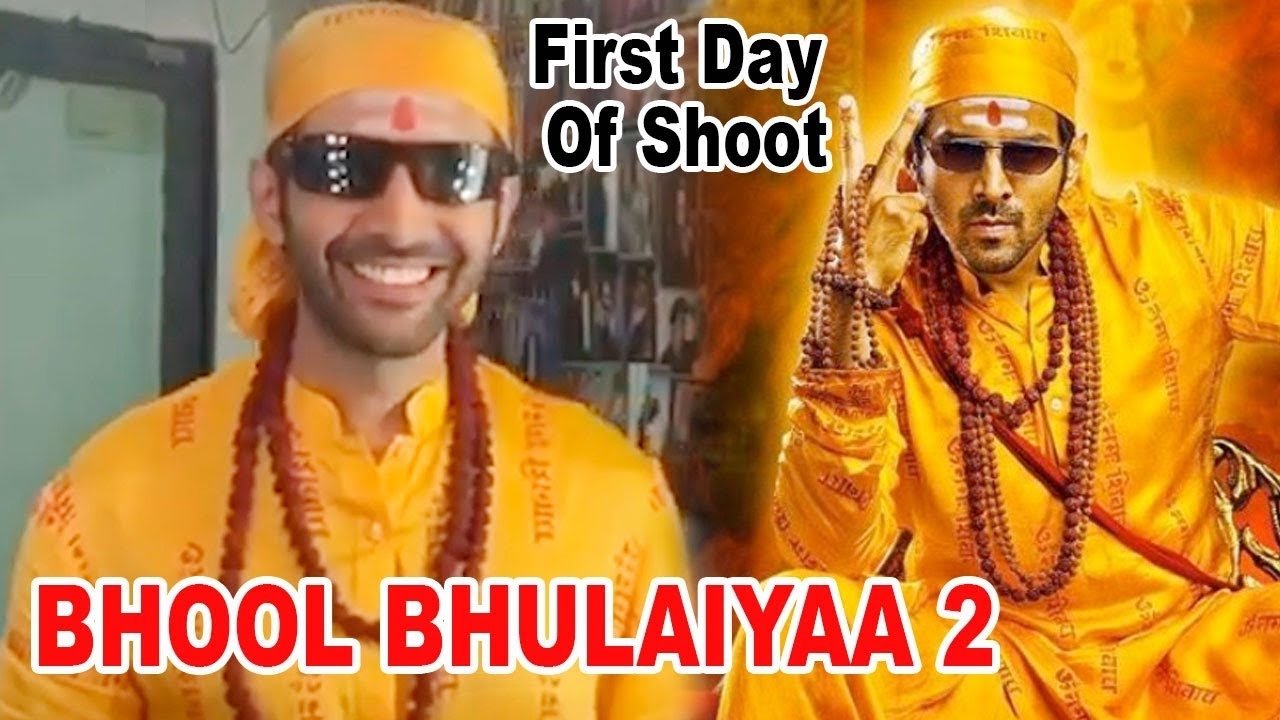 Shooting of Bhool Bhulaiyaa 2 begin in Jaipur, first look of Kartik Aaryan