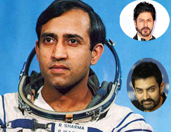Amir suggested Shah Rukh to take up Rakesh Sharma biopic