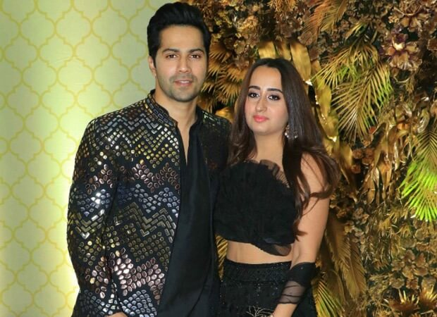 Varun Dhawan and Natasha Dalal leave to Alibaug for wedding festivities
