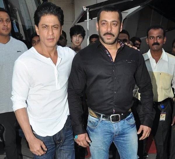 SRK, Salman shoot