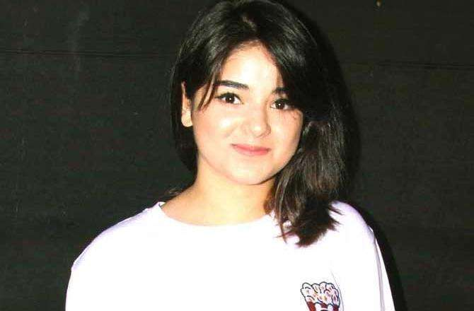 Netizens criticise Zaira Wasim for continuing with Bollywood