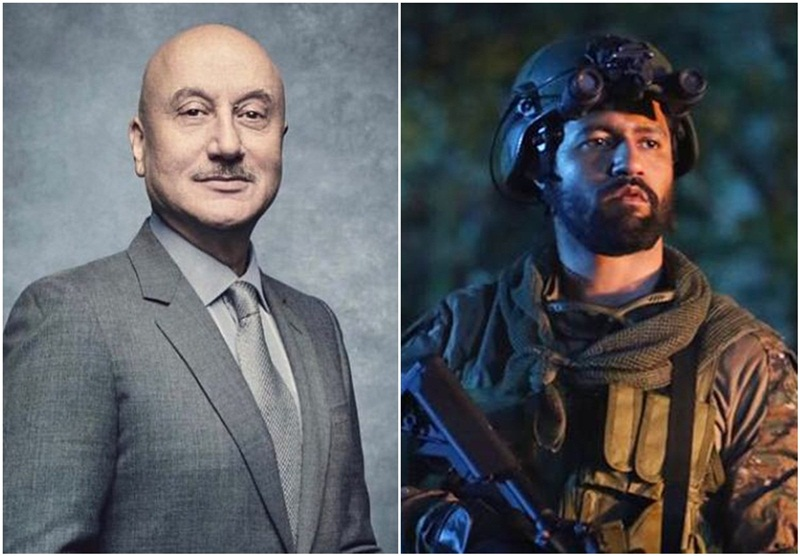 Anupam Kher welcomes Vicky Kaushal in actors world