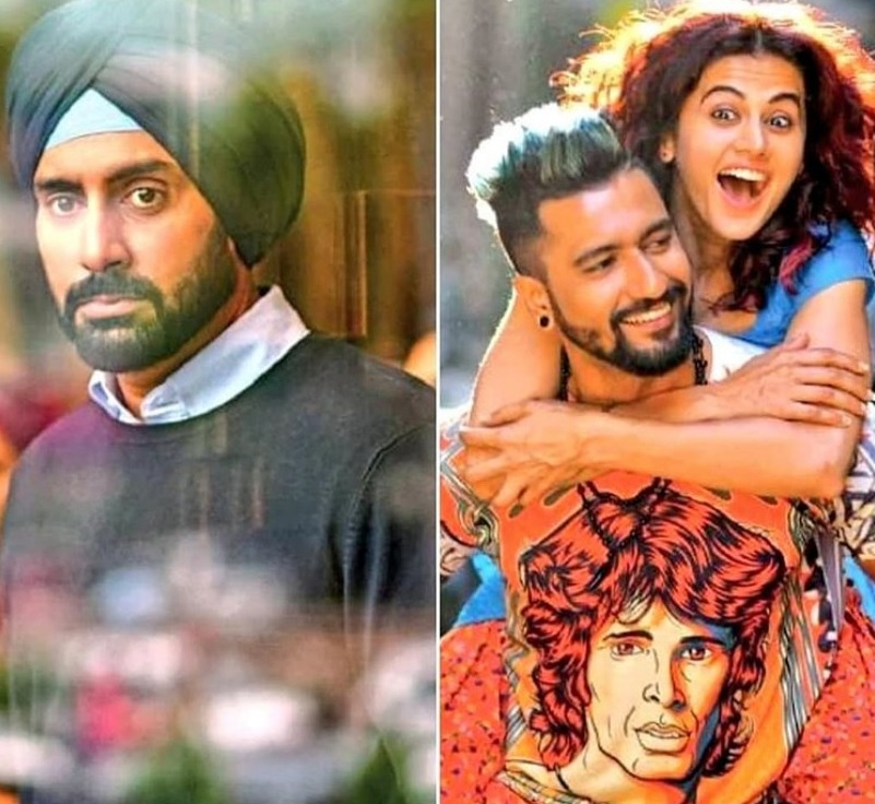 Manmarziyaan first look is out with Abhishek Bachchan, Vicky Kaushal and Taapsee Pannu in never-seen-before avatars