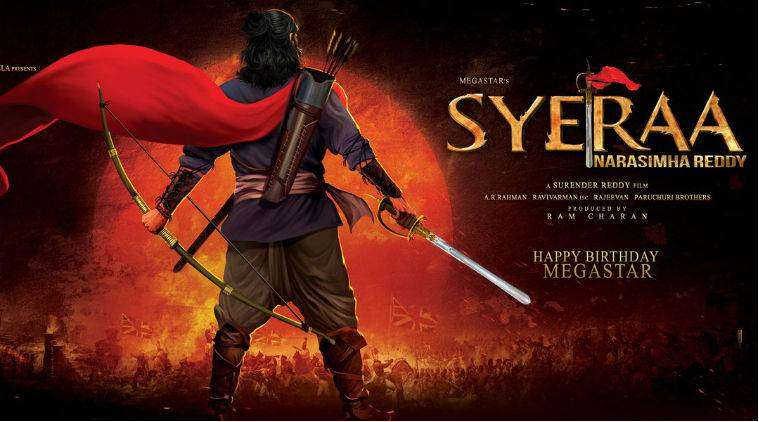 Revenue officials destroy sets of Chiranjeevi's Sye Raa Narasimha Reddy