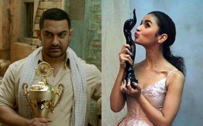 Filmfare Awards: Aamir's Dangal, Alia Bhatt's Udta Punjab awarded