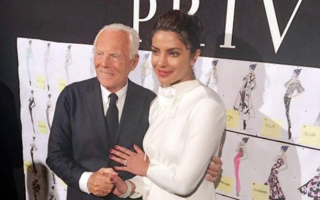 Priyanka Chopra meets Isabelle Huppert in Paris