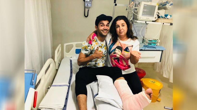Rajkumar Rao fractures leg while shooting for reality show