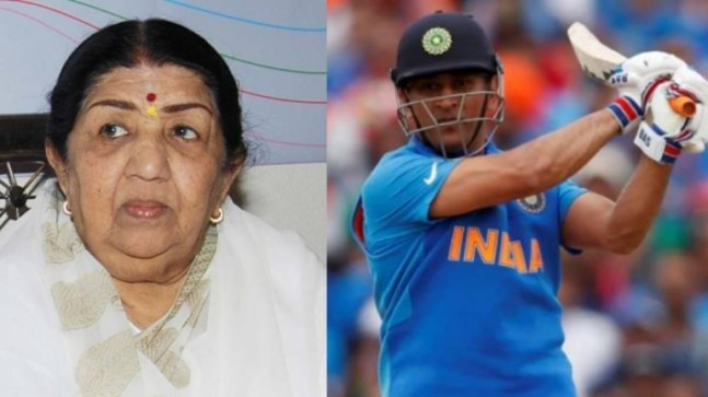 Lata Mangeshkar bats for MS Dhoni