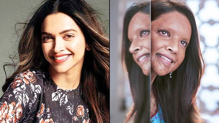 Deepika unveils her look from upcoming film