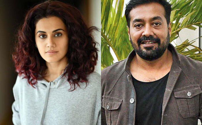 Income Tax officials raid at the residence of Taapsee Pannu and Anurag Kashyap