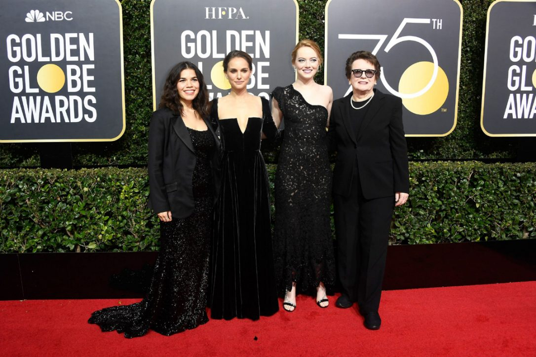 Golden Globes 2018: Hollywood stars shine in black uniting behind Time