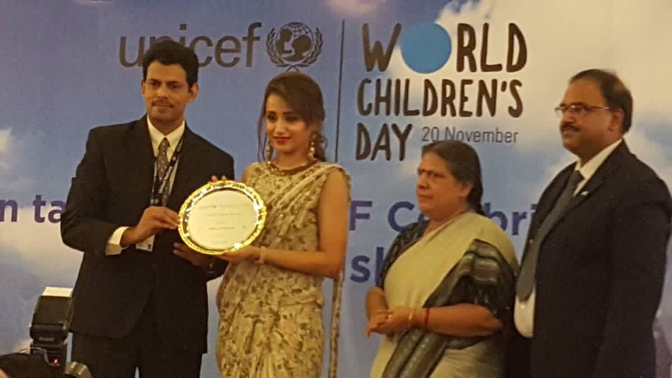 Actor Trisha gets UNICEF celebrity advocate status