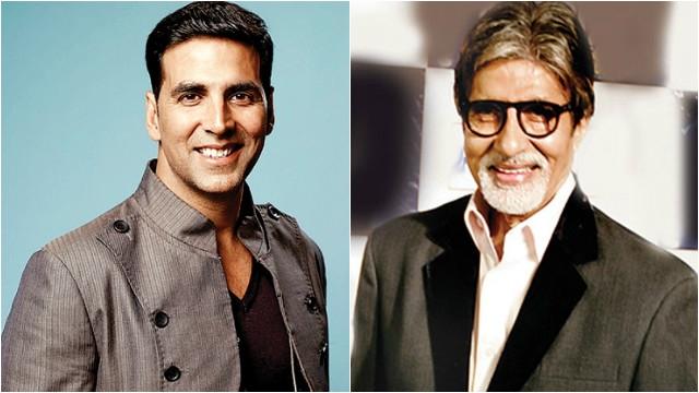 Amitabh Bachchan Shoots a Cameo for Akshay Kumar Starrer
