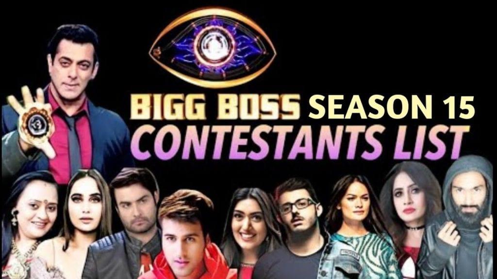Bigg Boss 15 contestants list