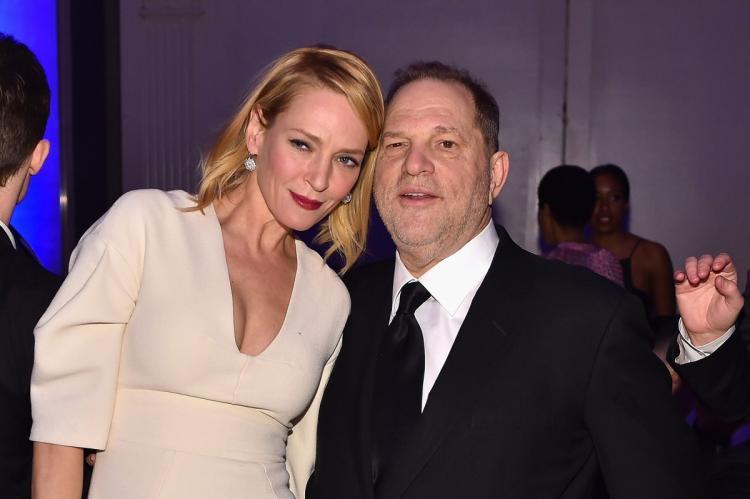 Uma Thurman accuses Harvey Weinstein of sexual assault