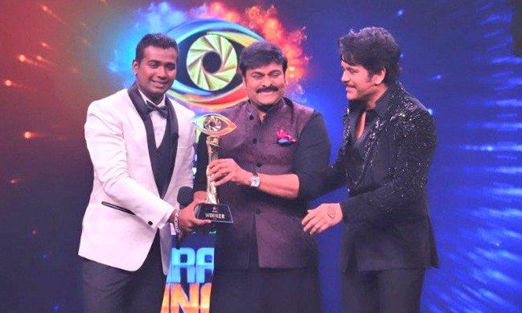 Rahul Sipligunj wins Telugu Bigg Boss 3
