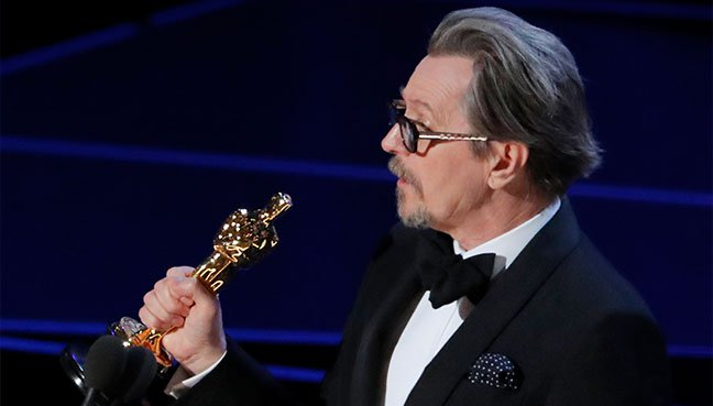 Gary Oldman wins Best Actor Oscar for