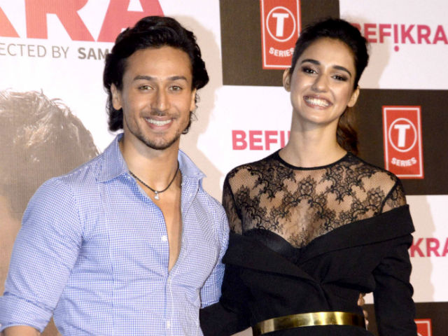 Tiger's energy levels are tough to match with :  Disha Patani