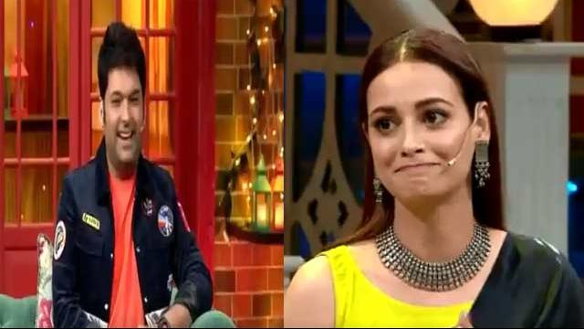 On Thappad movie promotion, Dia Mirza fears Kapil Sharma with a slap - Watch Video