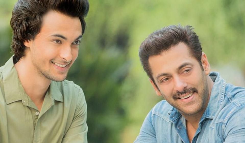 Salman Khan launches Aayush Sharma in