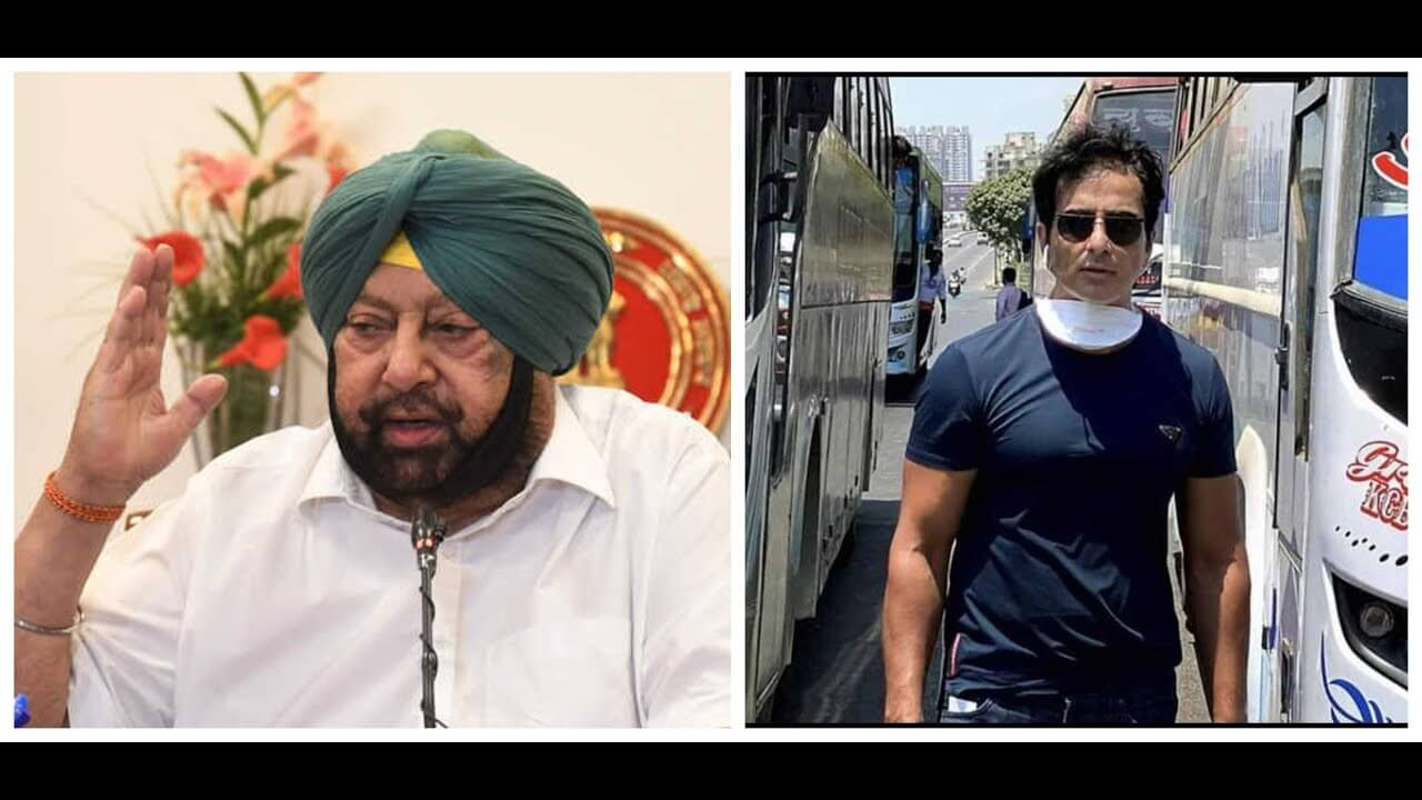 Punjab CM praises Sonu Sood for sending migrants workers back to their native places