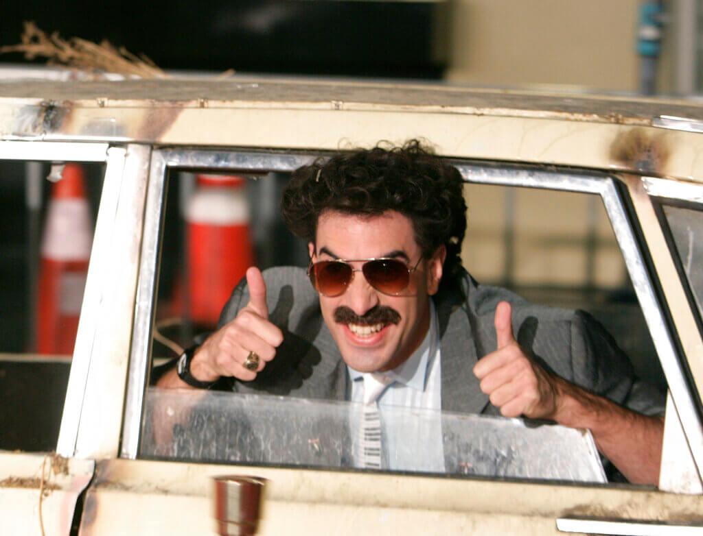 President Trump calls Borat star Sacha Baron Cohen an unfunny 'creep'