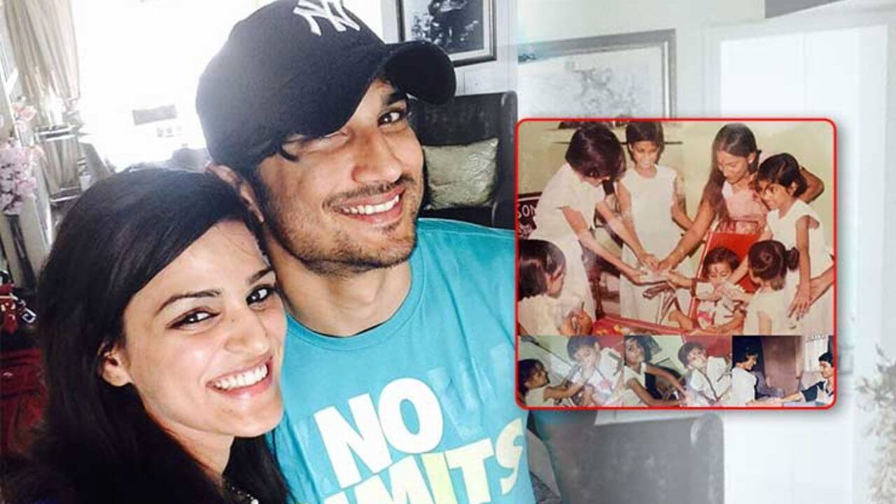 Sushant Singh Rajput's sister share an emotional post on the eve of Raksha Bandhan