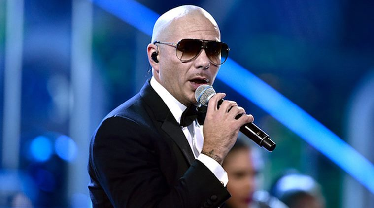 Pitbull announces collaboration with Britney Spears, Marc Anthony
