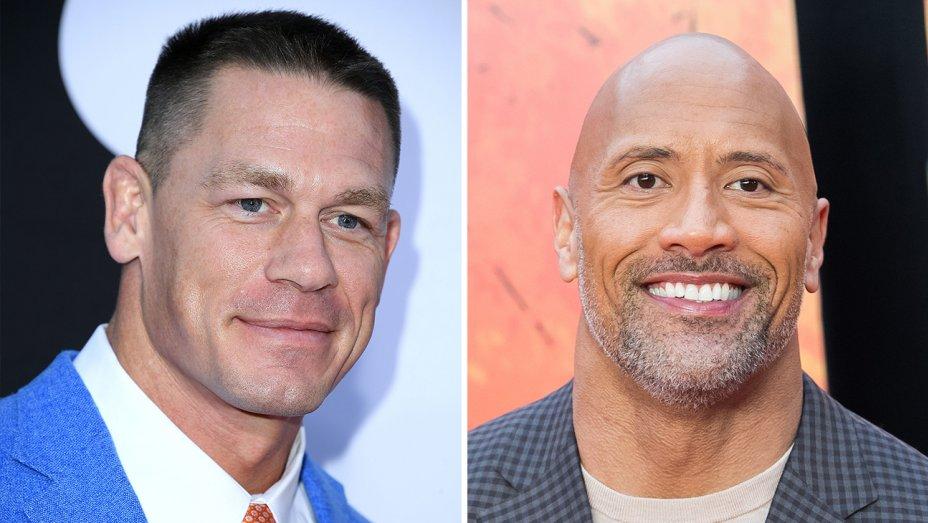 John Cena,Dwayne Johnson collaborating for