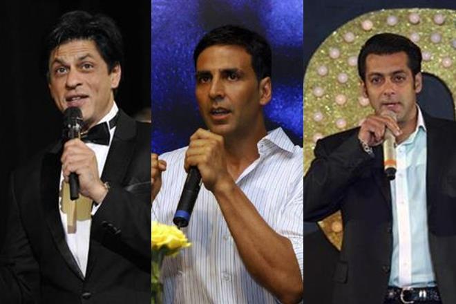 SRK,Salman,Akshay part of Forbes