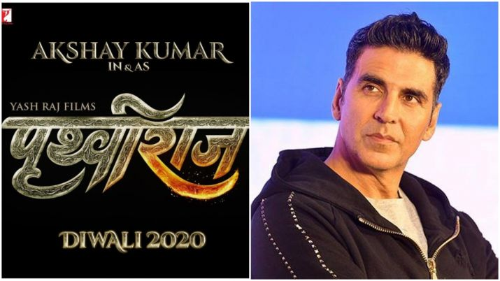 Akshay Kumar to play Prithviraj Chauhan in biopic, film to release on Diwali 2020