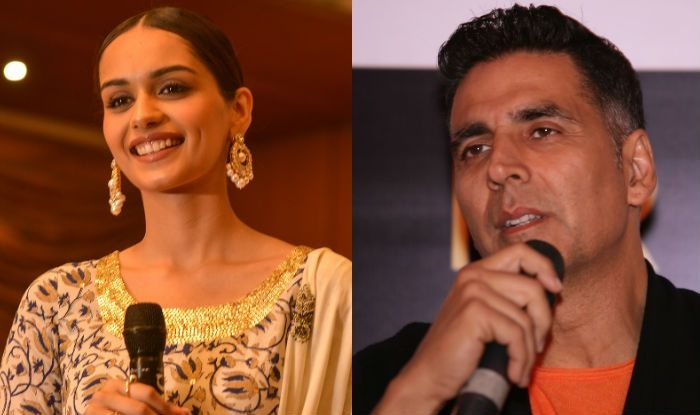 Manushi Chillar to make acting debut opposite Akshay Kumar in
